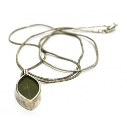 Real Coca leaf pendant necklace from Peru 950 silver OTHER PERUVIAN HANDICRAFTS