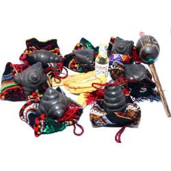 Chumpi Jiwayas or jihuaya meteorite Stones complete set ANDEAN OFFERINGS