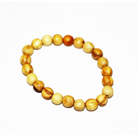 Palo santo bracelet from Peru - wood beads