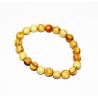 Palo santo bracelet from Peru - wood beads PALO SANTO ART