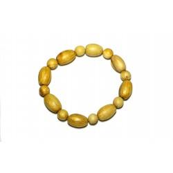 Palo Santo, bursera graveolens hand made beads bracelet From Peru PALO SANTO ART