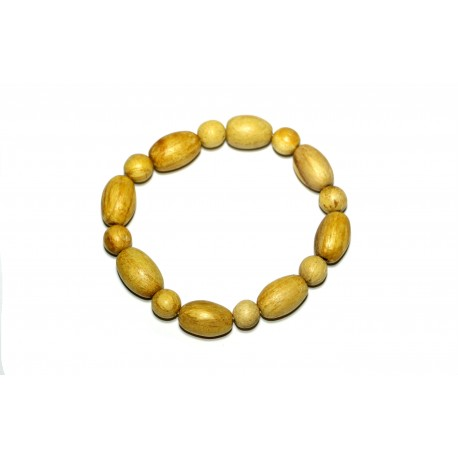 Palo Santo bracelet From Peru - small handmade beads