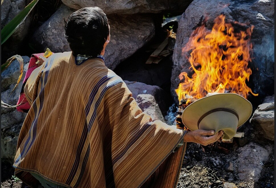 The Pachamama in the Andean worldview